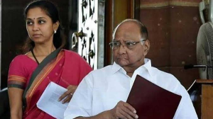 'Party and family split,' Supriya Sule upset with cousin Ajit