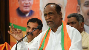 Telangana under a debt of Rs 2 lakh crore due to KCR, alleges BJP