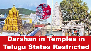 Darshan in Temples in Telugu States Restricted