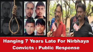 Hanging 7 Years Late For Nirbhaya Convicts